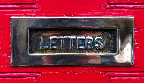 letterbox letter mail