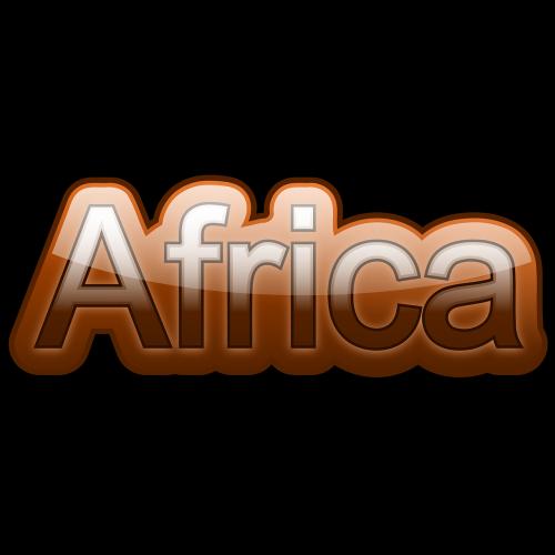 lettering africa font