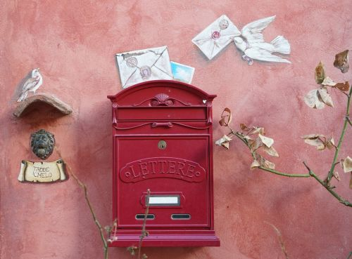 letters post mailbox