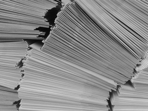 letters envelopes letter stack