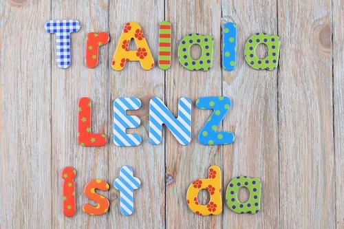 letters  colorful  lenz