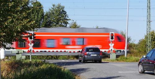 level crossing transit barriers