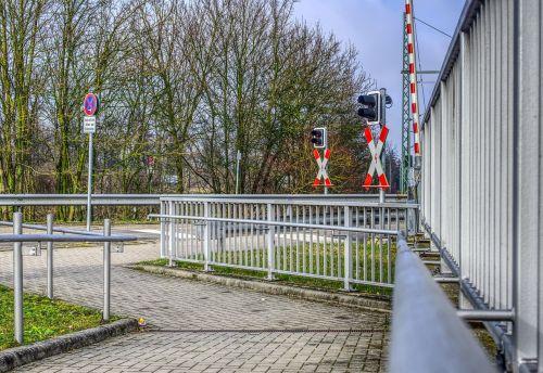 level crossing train rail