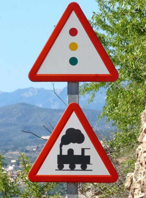 level crossing signal railway