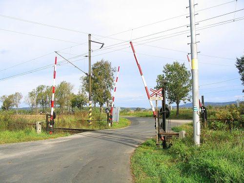 level crossing nostalgic railway