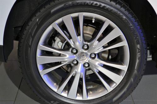 lexus wheel base tire car