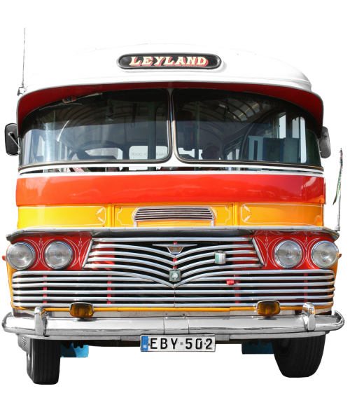 leyland bus transport and traffic