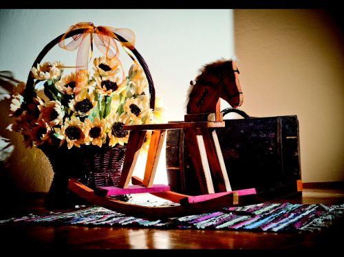 leżajsk toy wooden wooden horse