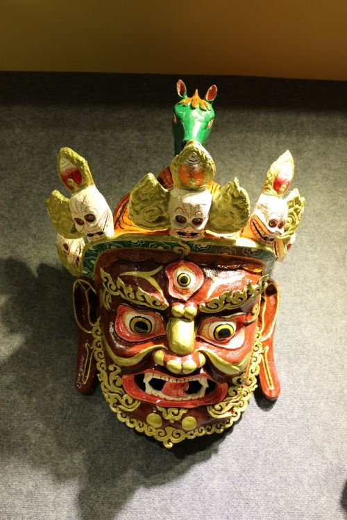 lhasa tibet mask