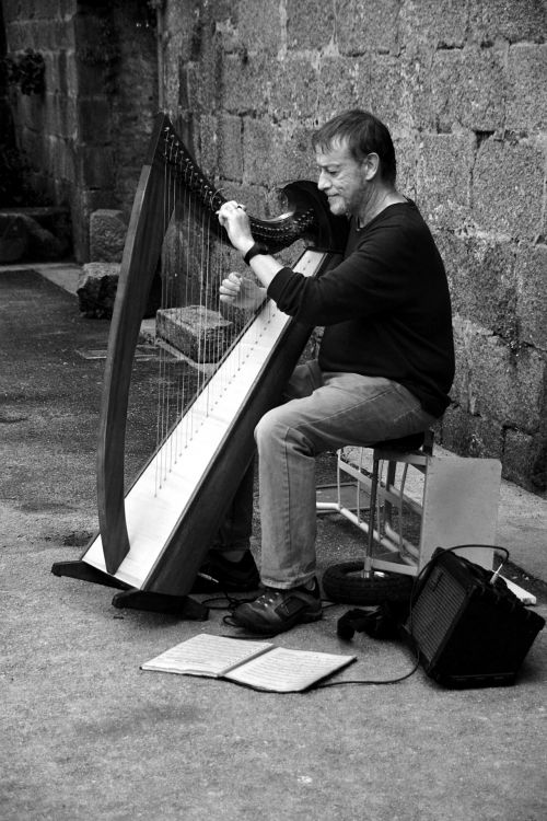 The Man With The Harp