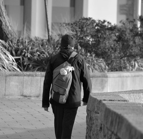 The Man In The Backpack
