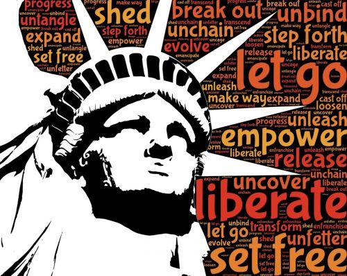 liberty statue liberation