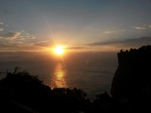 liberty nature sunset