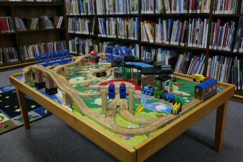 library children's library toy