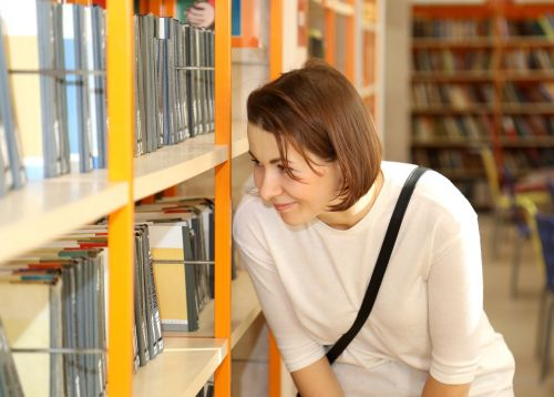 library,books,girl,smart,reading,literature,education,shelving,culture,read,knowledge,shelves,book,info