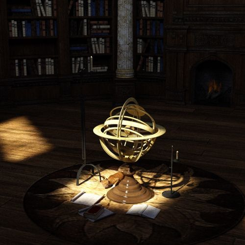 library books globe