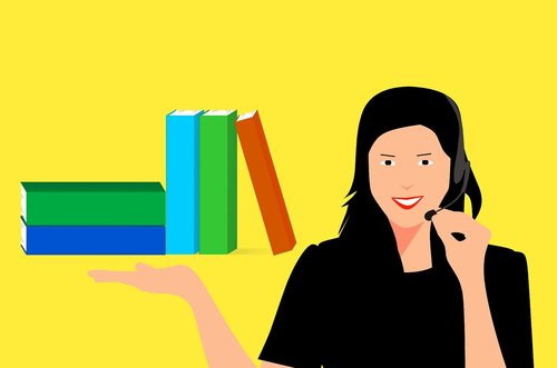 library  book  course