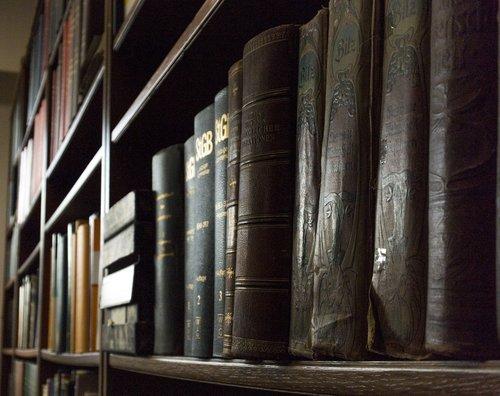 library  shelf  university