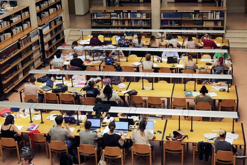 library  study  university