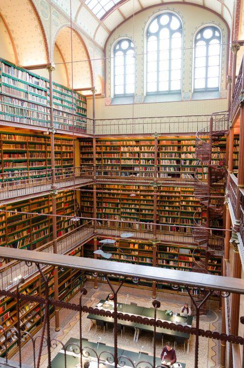 library books amsterdam