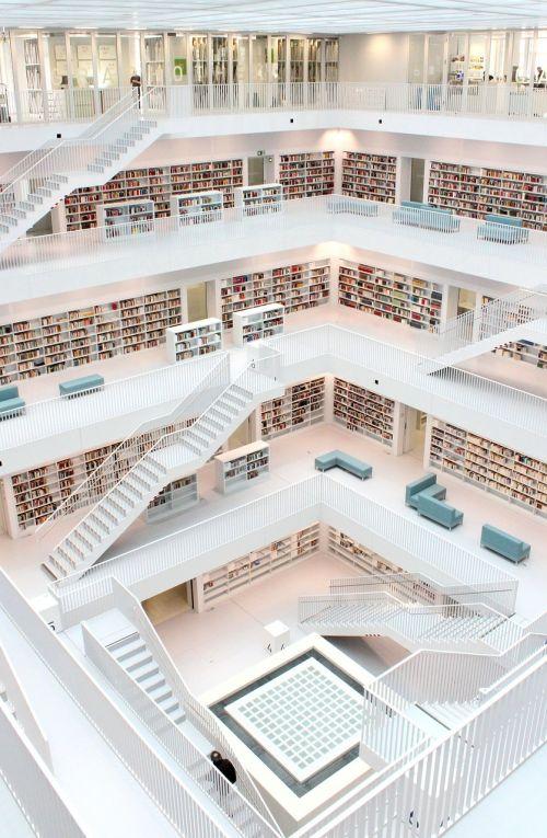 library architecture stuttgart