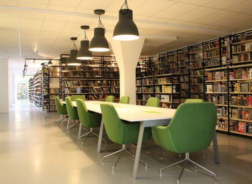 library books corridor