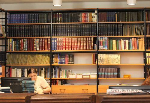 library rack books