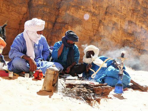 libya touareg hookah