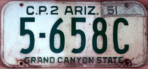 license plate arizona driver
