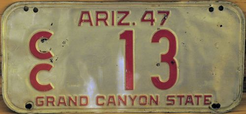 license plate arizona plate