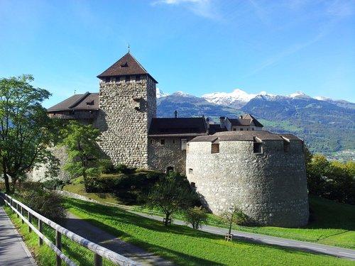 lichtenstein castle  castle  europe