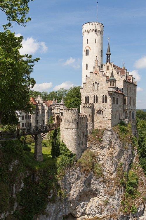 lichtenstein castle  castle  middle ages