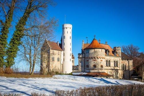 lichtenstein castle  reutlingen  baden württemberg