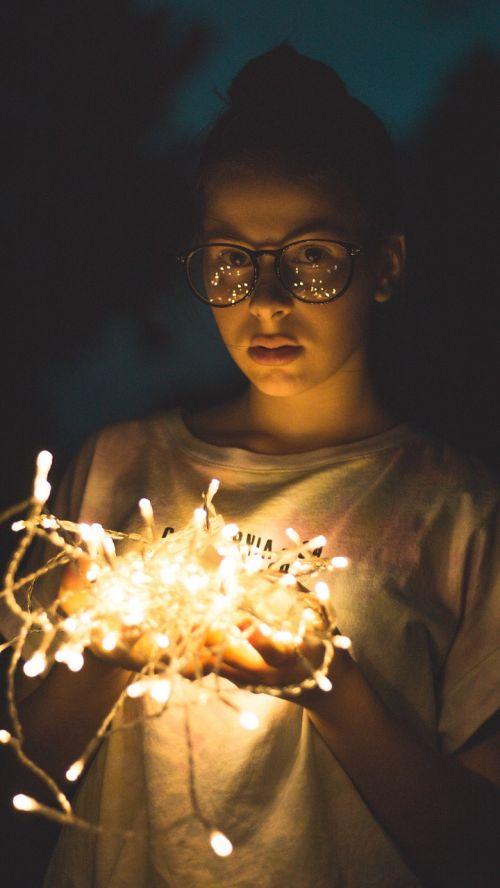 lichterkette portraits light