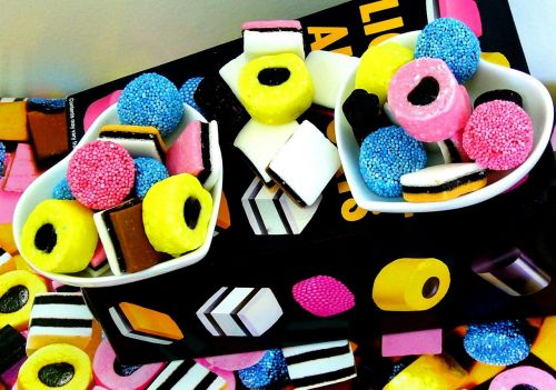 licorice candy sweets