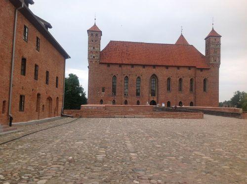 lidzbark warminski poland castle
