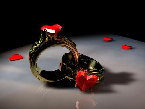 širdis, meilė, simbolis, obligacija, romantika, kartu, įsitraukimas, širdis & nbsp, forma, širdis & nbsp, žiedas, perdavimas, auksas, Valentino diena, emocija, širdis, meilės žiedai