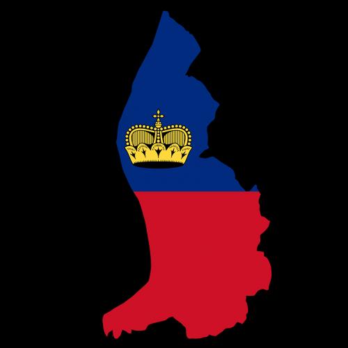 liechtenstein map land