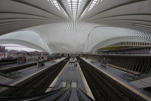 liège railway station architecture