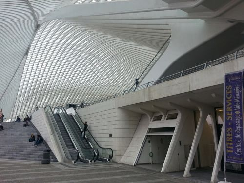 liege railway station liège