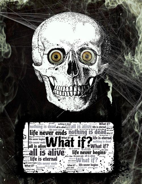 life death skull