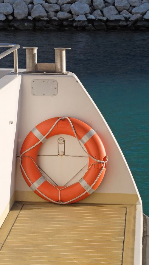 life buoy boat ship
