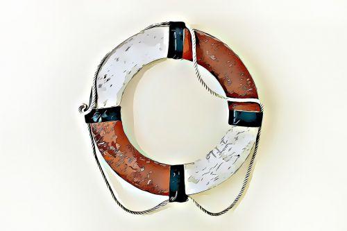 life buoy digital graphics