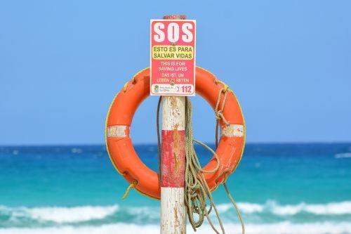 life buoy sea sos