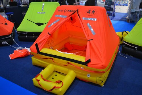 life raft lifeboat inflatable