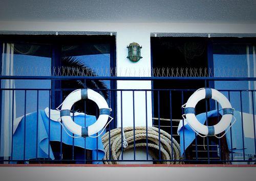 lifebelt blue sea