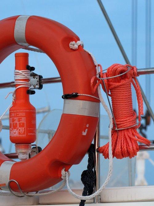lifebelt  lifeline  rescue light