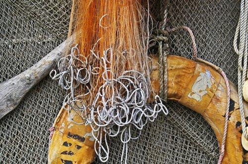 lifebelt  fishing net  fishing