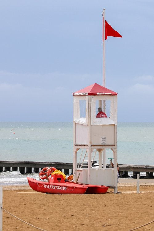 lifeboat station  lifeguard on duty  vacations