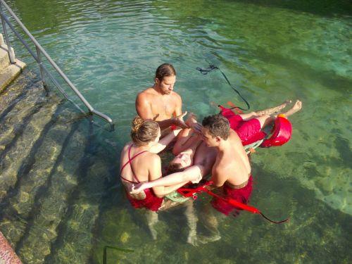 lifeguard recreation pool